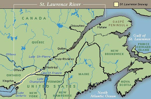 St Lawrence River World Map.Major Rivers Without Deltas Sedimentology And Stratigraphy